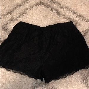 Free bird lace shorts
